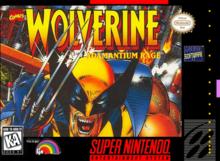 Box art for the game Wolverine: Adamantium Rage