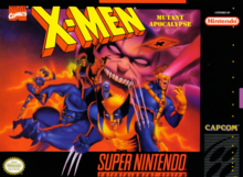 Box art for the game X-Men: Mutant Apocalypse