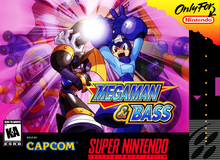 Box art for the game Mega Man & Bass