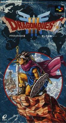 Capa do jogo Dragon Quest III