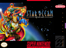 Box art for the game Star Ocean