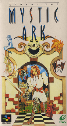 Box art for the game Mystic Ark