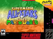 Box art for the game Super Mario All Stars + Super Mario World