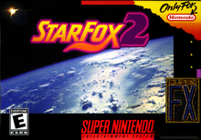 Box art for the game Star Fox 2