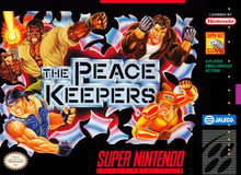 Box art for the game The Peace Keepers
