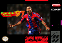 Box art for the game Ronaldinho Soccer 97