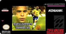 Box art for the game Ronaldinho Soccer 98