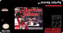 Box art for the game Ayrton Senna