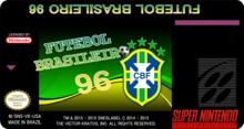 Box art for the game Futebol Brasileiro 96