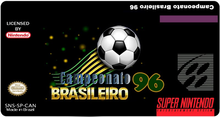 Box art for the game Campeonato Brasileiro 96
