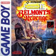 Box art for the game Castlevania II: Belmont's Revenge