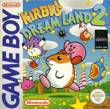 Capa do jogo Kirby's Dream Land 2