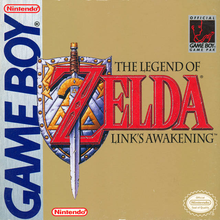 Capa do jogo The Legend of Zelda: Link's Awakening