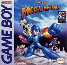 Box art for the game Mega Man V
