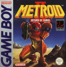 Box art for the game Metroid II: Return of Samus