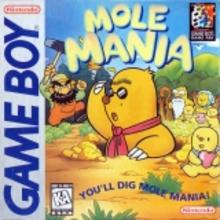 Box art for the game Mole Mania