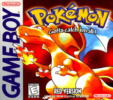 Box art for the game Pokemon Red Version