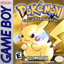 Box art for the game Pokemon Yellow: Special Pikachu Edition