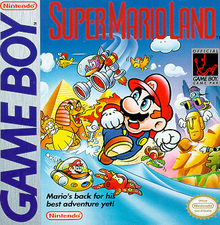 Box art for the game Super Mario Land