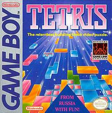 Box art for the game Tetris