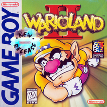 Box art for the game Wario Land II
