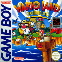 Box art for the game Wario Land: Super Mario Land 3