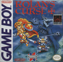 Box art for the game Rolan's Curse