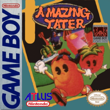 Box art for the game Amazing Tater