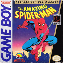 Box art for the game The Amazing Spider-Man