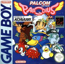 Box art for the game Parodius