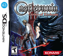 Box art for the game Castlevania: Order of Ecclesia