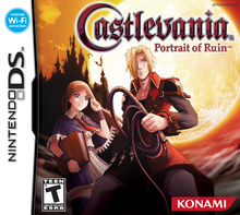 Box art for the game Castlevania: Portrait of Ruin
