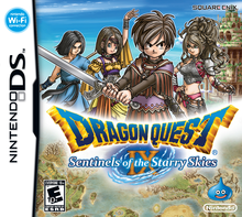 Box art for the game Dragon Quest IX: Sentinels of the Starry Skies