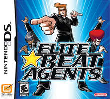 Box art for the game Elite Beat Agents
