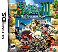 Box art for the game Etrian Odyssey III: The Drowned City