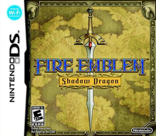 Capa do jogo Fire Emblem: Shadow Dragon