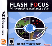 Box art for the game Flash Focus: Vision Training in Minutes a Day
