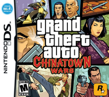 Box art for the game Grand Theft Auto: Chinatown Wars