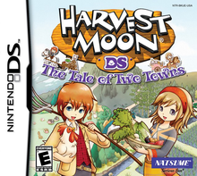 Box art for the game Harvest Moon: The Tale of Two Towns