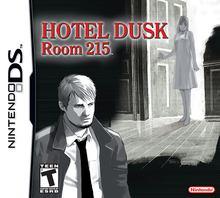 Box art for the game Hotel Dusk: Room 215