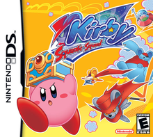 Box art for the game Kirby Squeak Squad