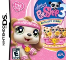Box art for the game Littlest Pet Shop 3: Biggest Stars -- Pink Team