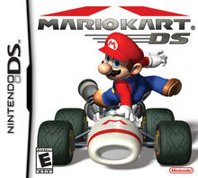 Box art for the game Mario Kart DS