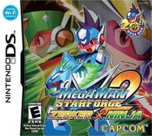 Capa do jogo Mega Man Star Force 2: Zerker X Ninja