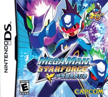 Box art for the game Mega Man Star Force: Pegasus