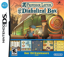 Box art for the game Professor Layton and the Diabolical Box