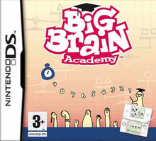Box art for the game Big Brain Academy