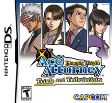 Box art for the game Phoenix Wright: Ace Attorney Trials and Tribulations
