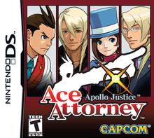 Box art for the game Apollo Justice: Ace Attorney