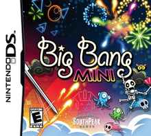 Box art for the game Big Bang Mini
